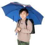 傘 子供用 男の子 通販 子供 55cm 長傘 ジャンプ傘 子ども キッズ おしゃれ かっこいい 小学生 こども 透明窓 雨傘 ブラック ネイビー グリーン ブルー