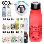 マイボトル 500ml 通販 おしゃれ 洗いやすい プラスチック マグボトル クリアボトル ミッキー ドナルド プーさん ぷーさん ディズニー キャラクター