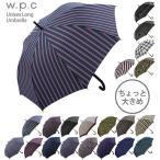 傘 メンズ おしゃれ 大きいサイズ ワンタッチ w.p.c WPC ワールドパーティー 定番 かさ アンブレラ ジャンプ傘 丈夫 大きい