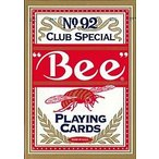 Bee ビー ポーカーサイズ No.92 Club Special レッド ・ ブルー -トランプ