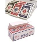 BICYCLE ライダーバック ポーカーサイズ  1ダース レッド・ブルー・ブラック  -マジックトランプ 手品