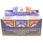 BICYCLE バイスクル ライダーバック808 新パッケージ 1ダース(赤6青6) トランプ  -マジックトランプ 手品