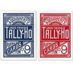 TALLY-HO タリホー ファンバック ポーカーサイズ (レッド ・ ブルー)