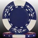 クレイ高純度カジノチップ(ブルー) 10枚セット