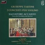 アッカルドのタルティーニ/ヴァイオリン協奏曲集 蘭PHILIPS   2525 LP レコード