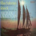 ラローチャ&ブルゴスのハチャトゥリアン/ピアノ協奏曲ほか 英DECCA 2612 LP レコード
