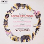 プレートルのサン=サーンス/「動物の謝肉祭」ほか  英EMI  2618 LP レコード