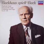 バックハウスのバッハ/作品集  独DECCA  2630 LP レコード