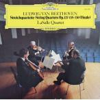 ラサール四重奏団のベートーヴェン/弦楽四重奏曲第12&16番ほか 独DGG 2901 LP レコード