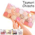 ツモリチサト 財布 長財布 tsumori chisato CARRY 新マルチドット レディース ピンク ゴールド ウォレット 57092 WS画像