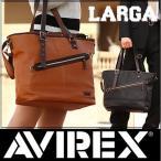 AVIREX アビレックス アヴィレックス トートバッグ ショルダーバッグ AVIREX トート ショルダー バッグ ラルガ m s l AVX982