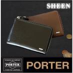 ショッピングポーター ポーター 吉田カバン porter 財布 メンズ 折り財布 シーン ポーター 牛革 110-02970 WS