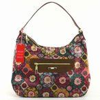 オイリリー(OILILY) Abbey Tiles Oilily Hobo Bag Mustard  マルチカラー87-oes4591-999
