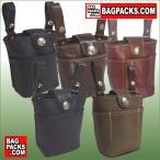 バッグパックス ウエストポーチ メディスンバッグ003(フロント・インナーポケット付き) BAGPACKS  レザー,革,ベルトポーチ,チョークバッグ,ウエストバッグ