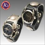 ケイシイズ KSR008-3コンチョ レザーブレスウォッチ パイソン,KC's,レザーグッズ,革,ウォレット,キーホルダー,スマホケース,コインケース,キーケース