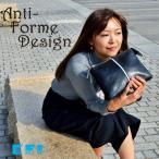 お財布バッグ お財布ポシェット ハンドバッグ  レディース 本革  2way アンチフォルムデザイン Anti-Forme Design 906152 color bar