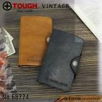 TOUGH タフ VINTAGE ヴィンテージ 二つ折り財布 小銭入れあり ブック型 レザー 革小物 メンズ 68774