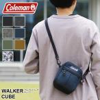【2019年新色追加】Coleman(コールマン) WALKER(ウォーカー) CUBE(キューブ) ポーチ ショルダーポーチ ウエストバッグ メンズ レディース