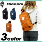 ショッピングビアンキ Bianchi ビアンキ LBNY ボディバッグ 斜め掛けバッグ ワンショルダーバッグ B5 タブレット対応 メンズ レディース 男女兼用 LBNY-02