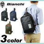 ショッピングビアンキ Bianchi ビアンキ NBCI ボディバッグ ワンショルダーバッグ 斜め掛けバッグ リュック 2WAY A4 タブレット収納 メンズ レディース 男女兼用 NBCI-08