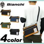 ショッピングビアンキ Bianchi ビアンキ NBTC ミニショルダーバッグ クラッチバッグ 斜め掛けバッグ 2WAY B5 マチ拡張 メンズ レディース NBTC-46