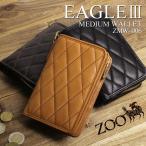 ZOO ズー EAGLE MEDIUM WALLET3 イーグルミディアムウォレット3 二つ折り財布 小銭入れあり 栃木レザー 革小物 日本製 メンズ レディース ZMW-006