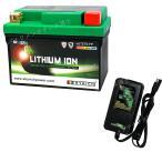 バイクバッテリー充電器セットSKYRICH【スカイリッチ専用充電器】+リチウムイオンバッテリー互換 ユアサ YTZ7S TTZ7SL FTZ7S GT6B-3 FTZ5L-BS 即使用可能