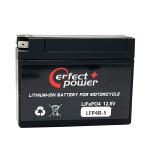PERFECT POWERリチウムイオンバッテリー LFP4B-5 互換 ユアサ YUASA バッテリー YT4B-BS GT4B-5 FT4B-5 即使用可能TZR250R 3XVビーノ 5AU SA10J