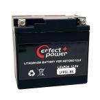 PERFECTPOWER リチウムイオンバッテリー 互換 ユアサYUASA YTX5L-BS FTX5L-BS即使用可能 XR250モタードNSR125リード100 ビーノSA26Jグランドアクシス