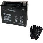 台湾 YUASAユアサ  YTX12-BS 互換/GTX12-BS FTX12-BS DTX12-BS ゼファー750 ZZR400 フュージョン フォーサイト 初期充電済 即使用可能