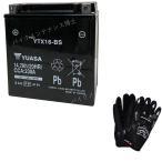 台湾 YUASAユアサ  YTX16-BS 互換/GTX16-BS FTH16-BS DTX16-BS バルカン1500クラシックゼファー1100RS 初期充電済 即使用可能