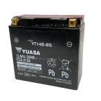 台湾 YUASAユアサYT14B-BS  互換YT14B-4 FT14B-4 GT14B-4 初期充電済 即使用可能