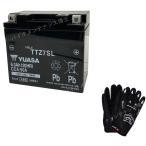 台湾 YUASAユアサ TTZ7SL 互換 YTZ7S FTZ7S GT6B-3/FTZ5L-BS  初期充電済 即使用可能