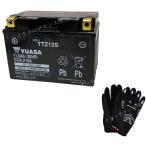 グローブ付! 台湾 YUASAユアサ TTZ12S 互換 YTZ12S FTZ12S DTZ12-BS フォルツァZ フォルツァX MF06 MF08  初期充電済 即使用可能