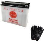 グローブ付! 台湾 YUASAユアサ YB16AL-A2 互換 GM16A-3A V-MAX ドカティ