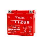 台湾ユアサ YUASA TTZ6V バイクバッテリー充電済 【互換 YTZ6V FTZ6V GTZ6V YTX5L-BS】 即使用可能 Dunk DioZ4 ZOOMER PCX