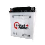 パーフェクトパワー PB12AL-A2 開放型バイクバッテリー 除雪機用バッテリー 液別【互換 ユアサ YB12AL-A2 FB12AL-A GM12AZ-3A-1】 ビラーゴ400 除雪機
