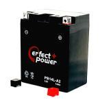PERFECT POWER PB14L-A2 バイクバッテリー初期充電済 互換 YB14L-A2 FB14L-A2 FZX CB750 GPZ900R FZR750