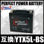 PERFECT POWER PTX5L-BS バイクバッテリー充電済 互換 YTX5L-BS DTX5L-BS FTX5L-BS GTX5L-BS