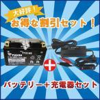 バッテリー&充電器セット! 台湾 YUASAユアサ TTZ10S 互換 YTZ10S FTZ10S 初期充電済 即使用可能