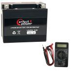 【デジタルテスターセット】 PERFECT POWER LFP12-BS リチウムイオンバッテリー 【互換 ユアサ YTX12-BS FTX12-BS GTX12-BS】 即利用可能