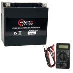 【デジタルテスターセット】 PERFECT POWER LFP14-BS リチウムイオンバッテリー 【互換 ユアサ YTX14-BS FTX14-BS GTX14-BS】
