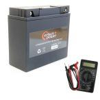 【デジタルテスターセット】 PERFECT POWER LFP19BL-BS リチウムイオンバッテリー 【互換 YT19BL-BS BMW 51913 EXIDE-61212346800】