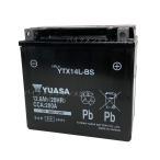 YUASAユアサYTX14L-BS 互換 65958-04 65984-00 XL1200R XLH883  初期充電済 即使用可能