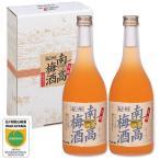 梅酒 お中元 紀州南高梅酒 720ml 2本セット ギフト 内祝い 完熟南高梅使用