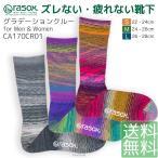 ショッピングソックス ソックス 靴下 ラソックス rasox クルーソックス グラデーションクルー メンズ レディース