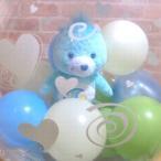 ショッピングケアベア バルーン電報 ケアベアたまごバルーン電報 誕生日 お祝い 結婚式 電報 女性