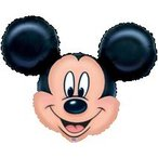 ミッキーマウス ヘリウムなし風船/フィルムバルーン/お祝い/誕生日/バースデー/キャラクター