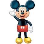エアーウォーカーミッキーマウス ヘリウムなし風船/フィルムバルーン/お祝い/誕生日/バースデー/キャラクター