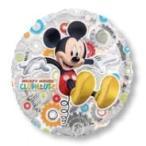 ミッキークラブハウス 45cmヘリウムなし風船/フィルムバルーン/お祝い/誕生日/バースデー/キャラクター